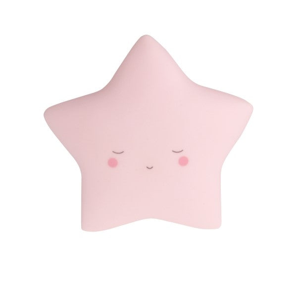 Little Dream Kids Night  Light Star  Pink