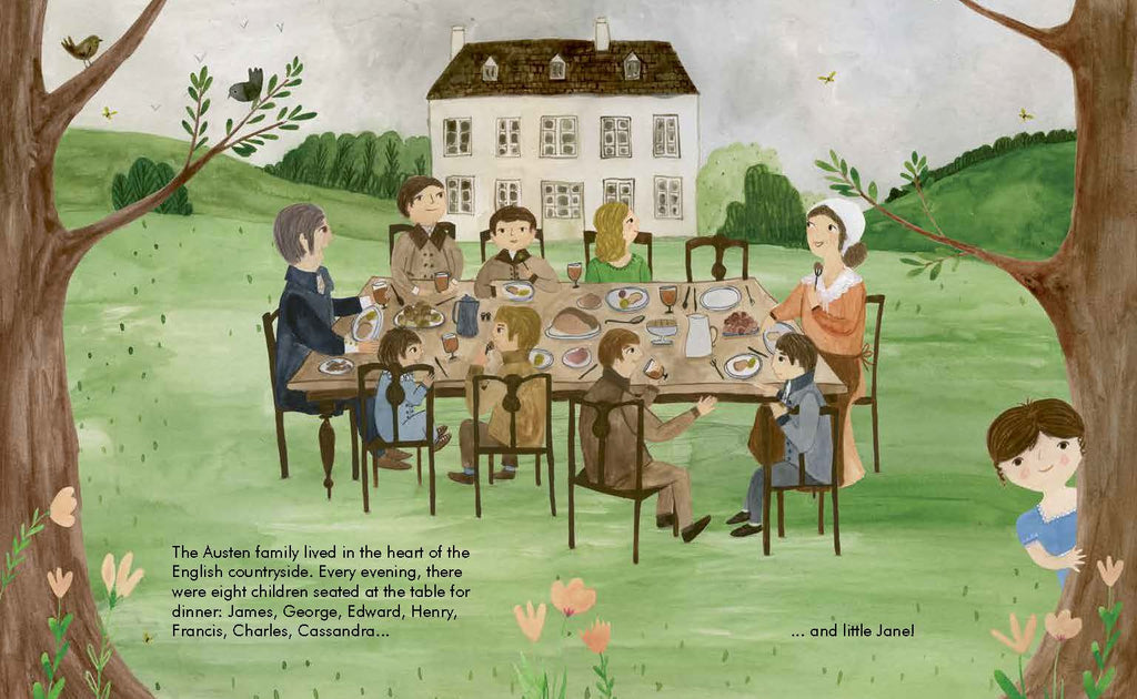 Little People, Big Dreams Children's Books Jane Austen