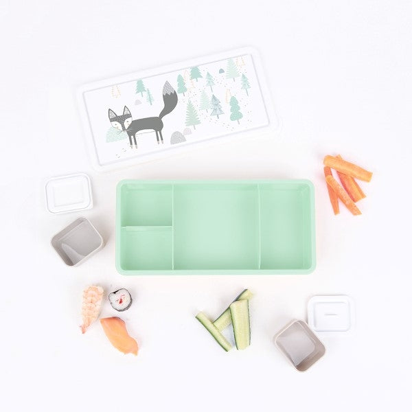 Love Mae Kids Lunch box  Wandering Fox