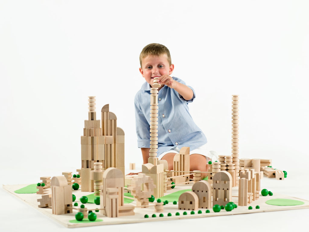 Milaniwood M2 City Wooden Construction Set