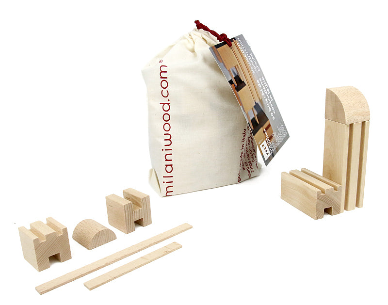 Milaniwood M2 Wooden City Building Extension Pack