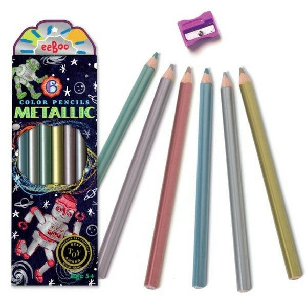 Metallic Pencils Robots
