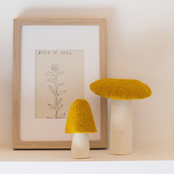 Muskhane Handmade Room Decorations - Morel Mushroom Pollen Large