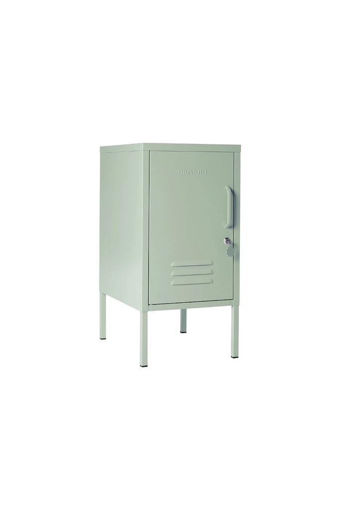 Mustard Made Metal Lockers - The Shorty in Sage