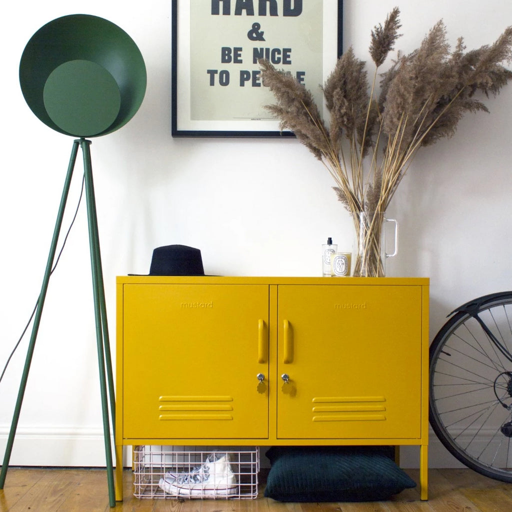 Mustard Made Metal Lockers - The Lowdown in Mustard