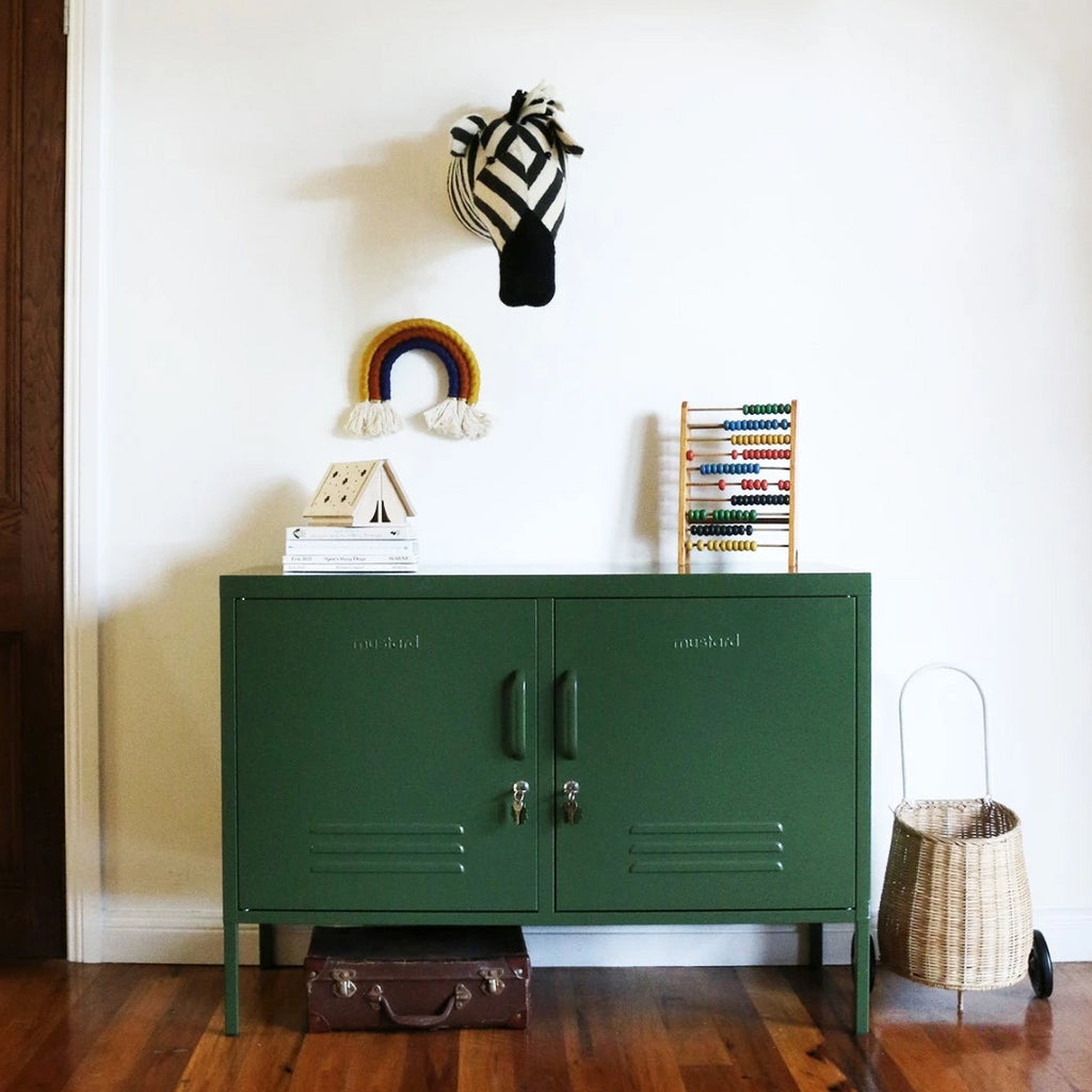 Mustard Made Metal Lockers - The Lowdown in Olive