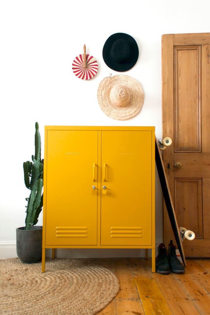 Mustard Made Metal Lockers - The Midi in White