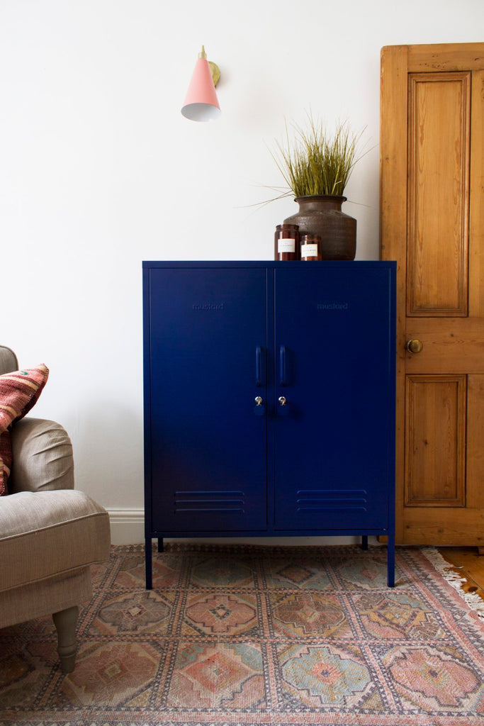 Mustard Made Metal Lockers - The Midi in Navy