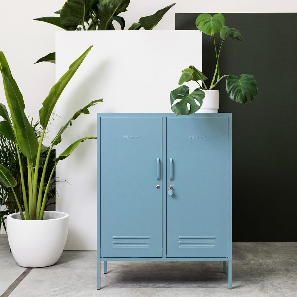 Mustard Made Metal Lockers - The Midi in Berry