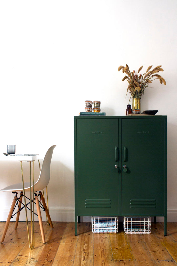 Mustard Made Metal Lockers - The Midi in Olive