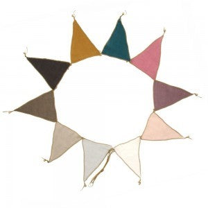 Numero 74 Bunting Garland Mixed Colour