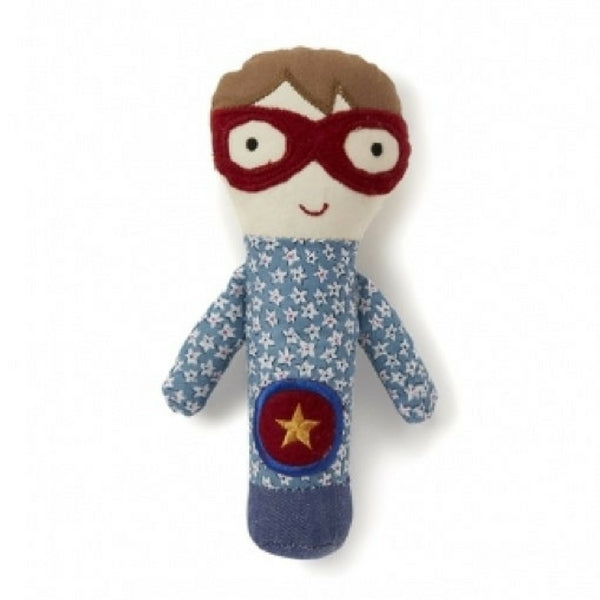 Nana Huchy Super Boy Baby Rattle