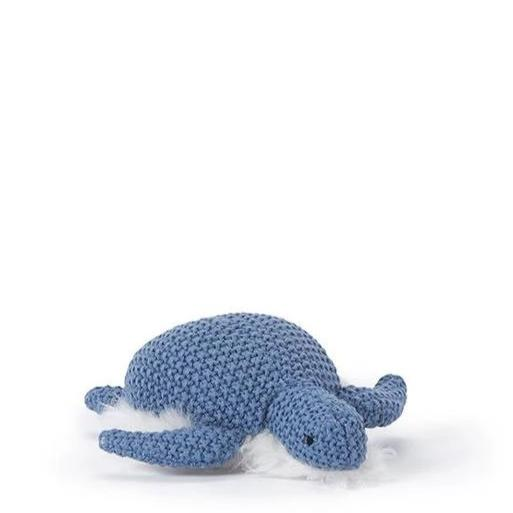 Nana Huchy Dolls - Toby Turtle Rattle Blue