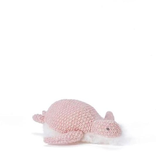 Nana Huchy Dolls - Toby Turtle Rattle Pink