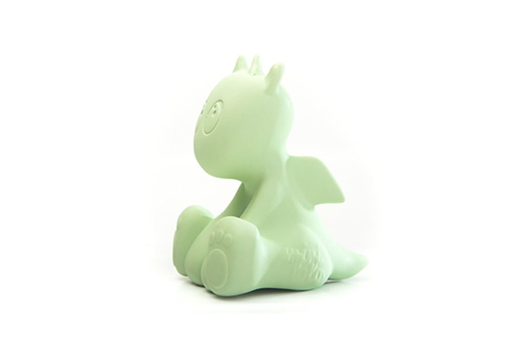Mini Lolo Natural Rubber Teething And Bath Toys - Lolo the Dragon Mint
