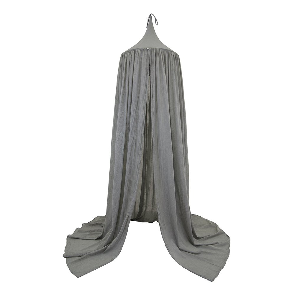 Numero 74 Bed Canopy Silver Grey