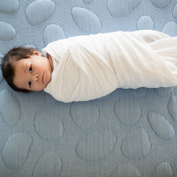 Nook Sleep Systems Pebble Pure Organic Cot Mattress  White