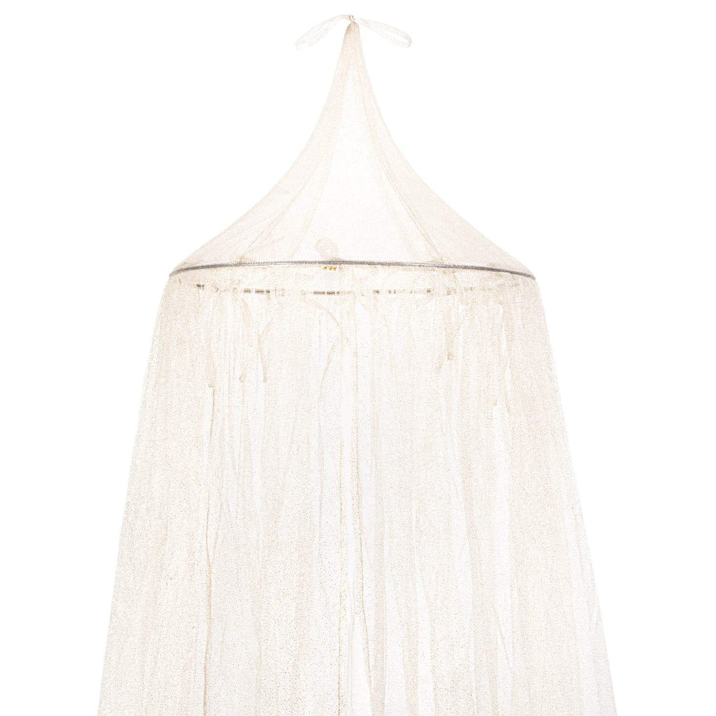 Numero 74 Canopy - Gold Sparkling Tulle