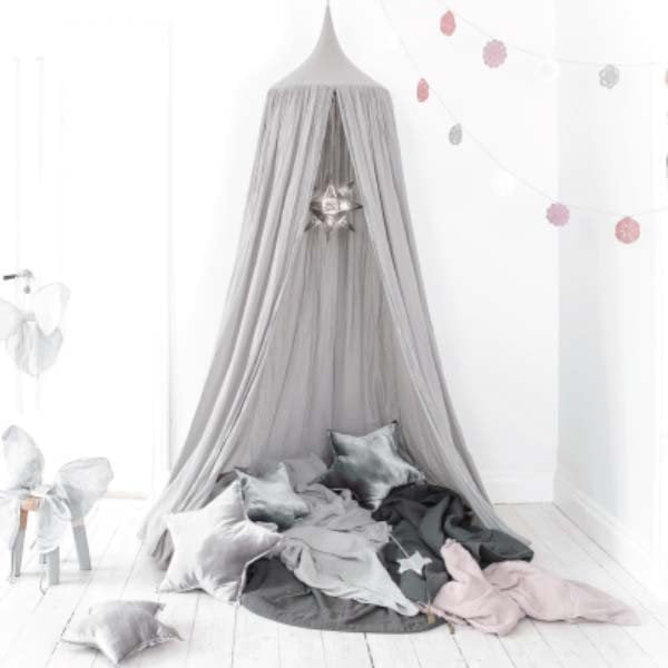 Numero 74 Bed Canopy Dusty Pink
