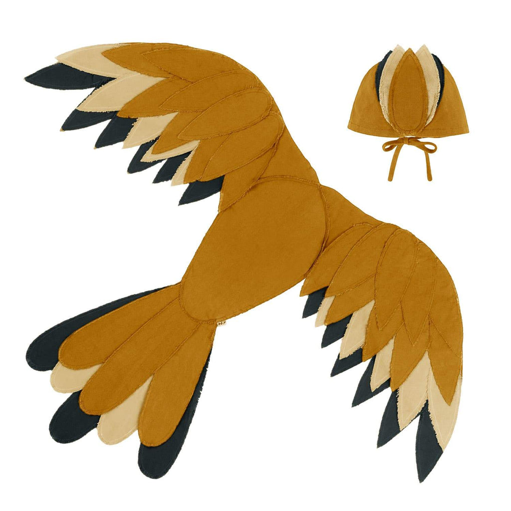 Numero 74 - Phoenix Bird Wings Gold