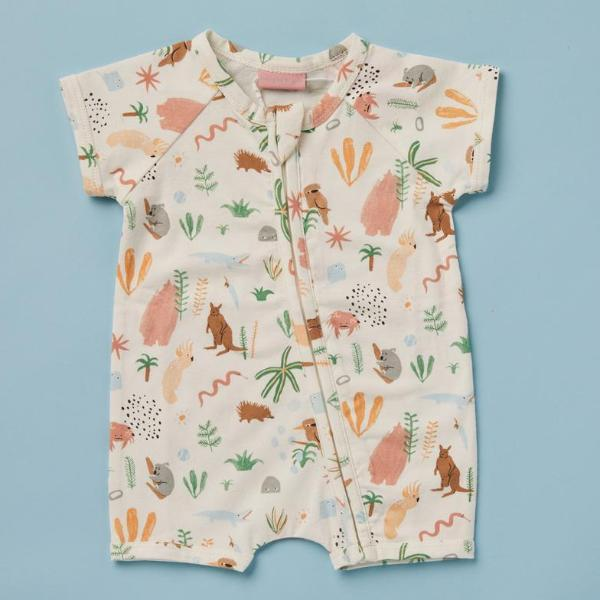 Halcyon Nights Baby Clothes  Outback Dreamers Summer Romper