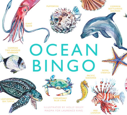 Childrens Game - Ocean Bingo