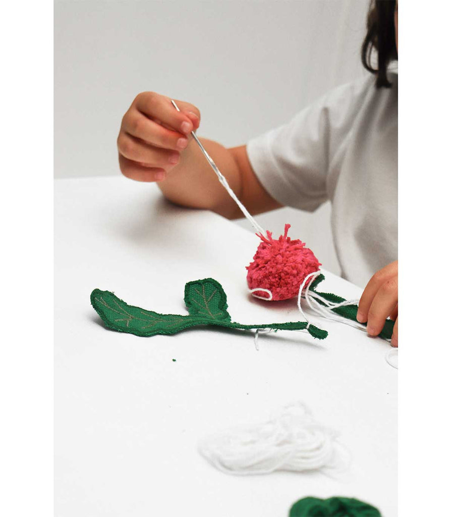 Oli and Carol Kids Sewing Kits - Ramona the Radish