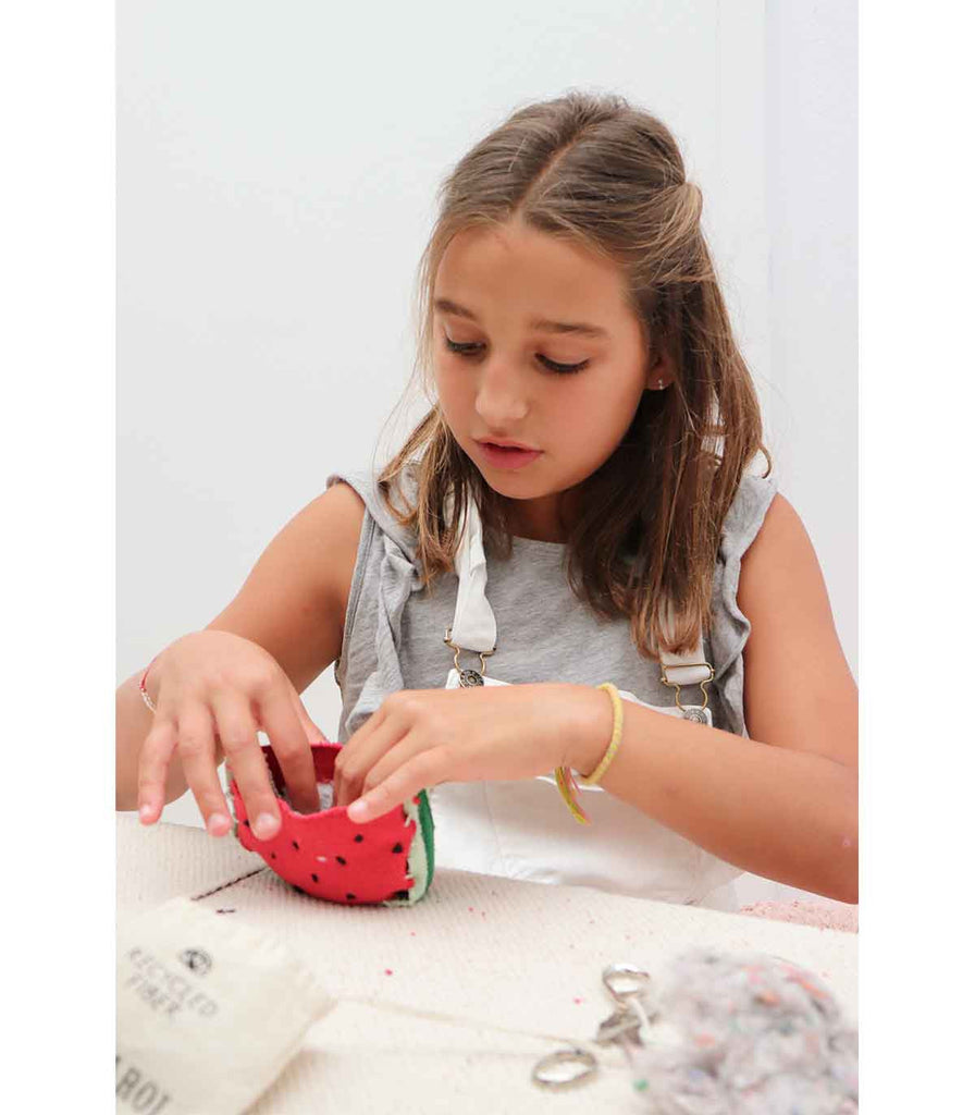 Oli and Carol Kids Sewing Kits - Wally The Watermelon