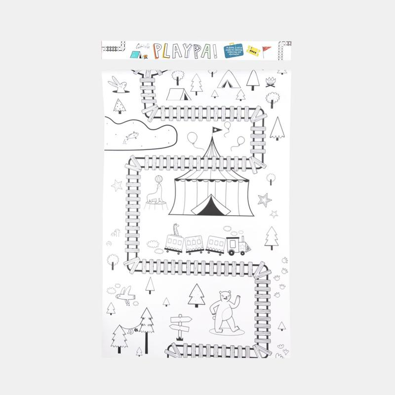 Olli Ella Playpa Forest Design Paper Roll