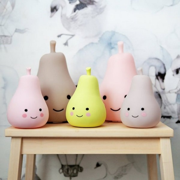 Light Ups Childrens Light Pink Pear