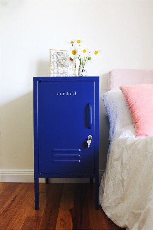 Mustard Made Lockers  The Shorty in Navy