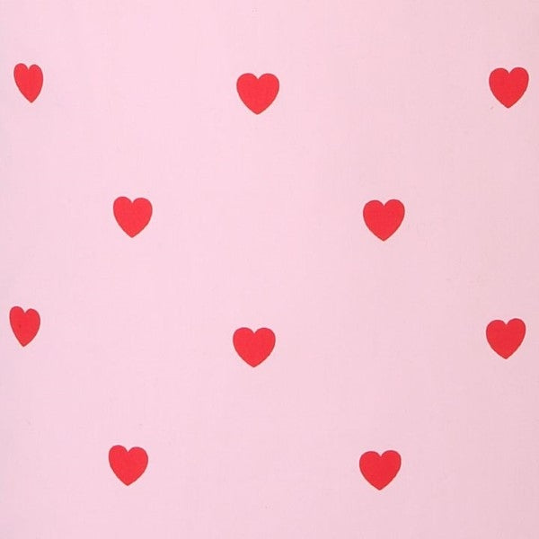 Kip&Co I Heart You Fitted Cot Sheet