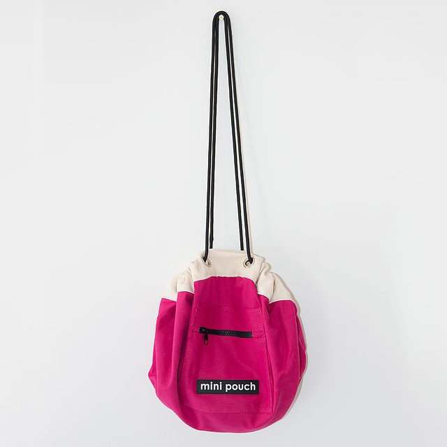 Mini Pouch Hot Pink