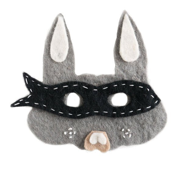 Down to the Woods Bandit Bunny Mask