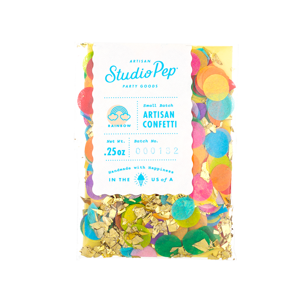 Studio Pep- Rainbow Mini Confetti Pack