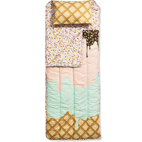Sack Me Double Sundae Slumber Sack with Free Pillow