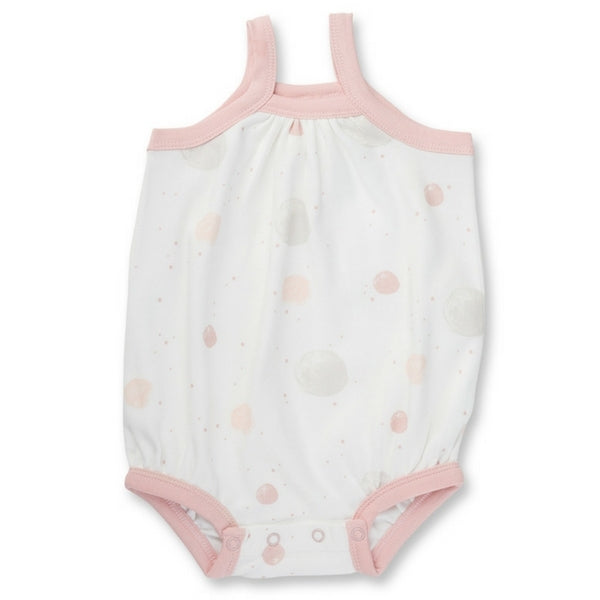 Sapling Baby Pink Blushing Orbit Bubble Bodysuit