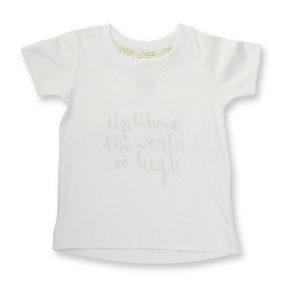 Sapling Organic Baby Clothes   Clothes Up Above The World TShirt
