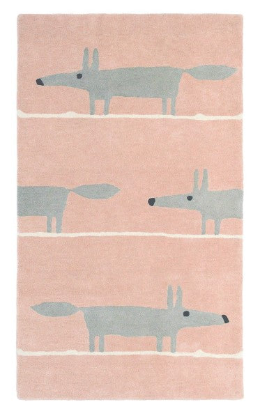 Scion Mr. Fox Rug, blush