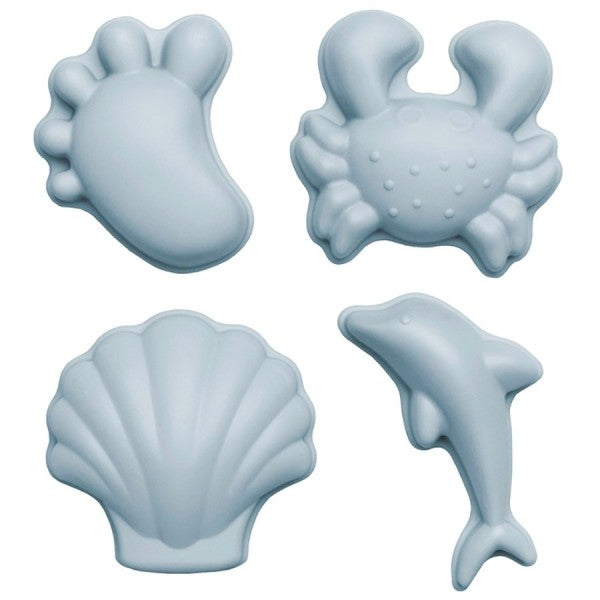 Scrunch Sand Moulds - Blue