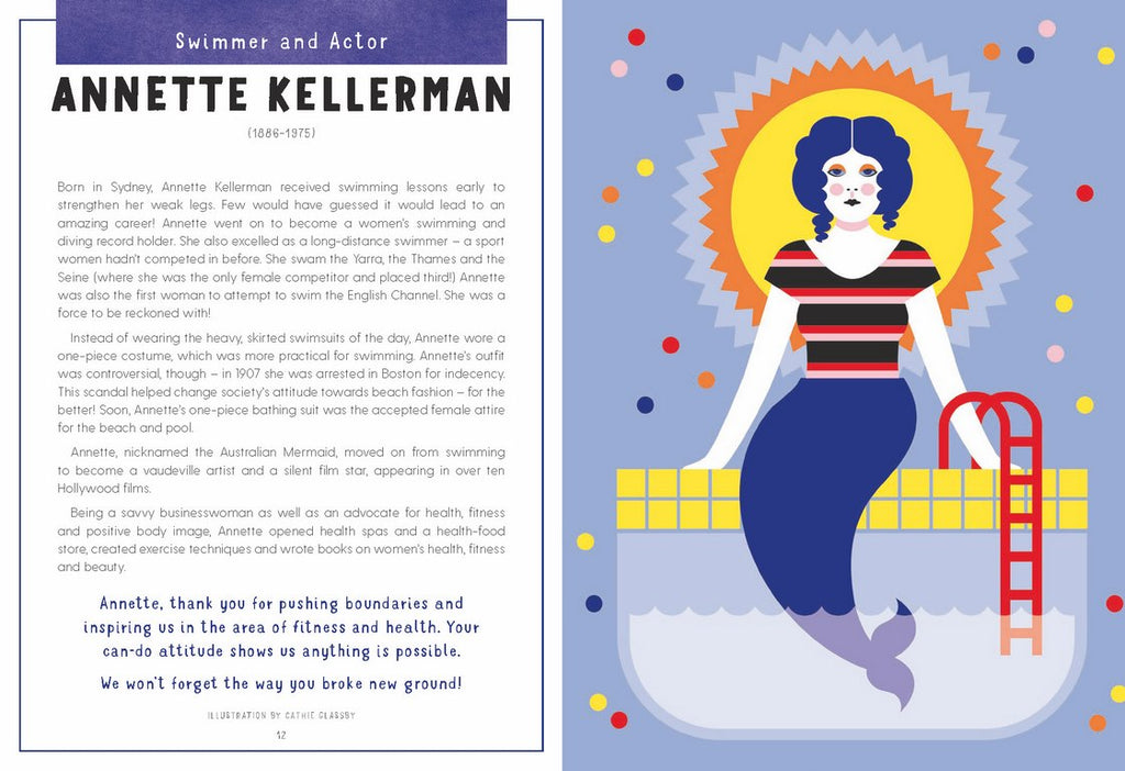 Children's Book Shout Out To The Girls. A Celebration of Awesome Australian Women