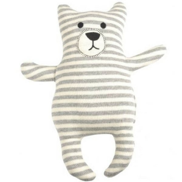 Indus Design Bear Toy  Grey