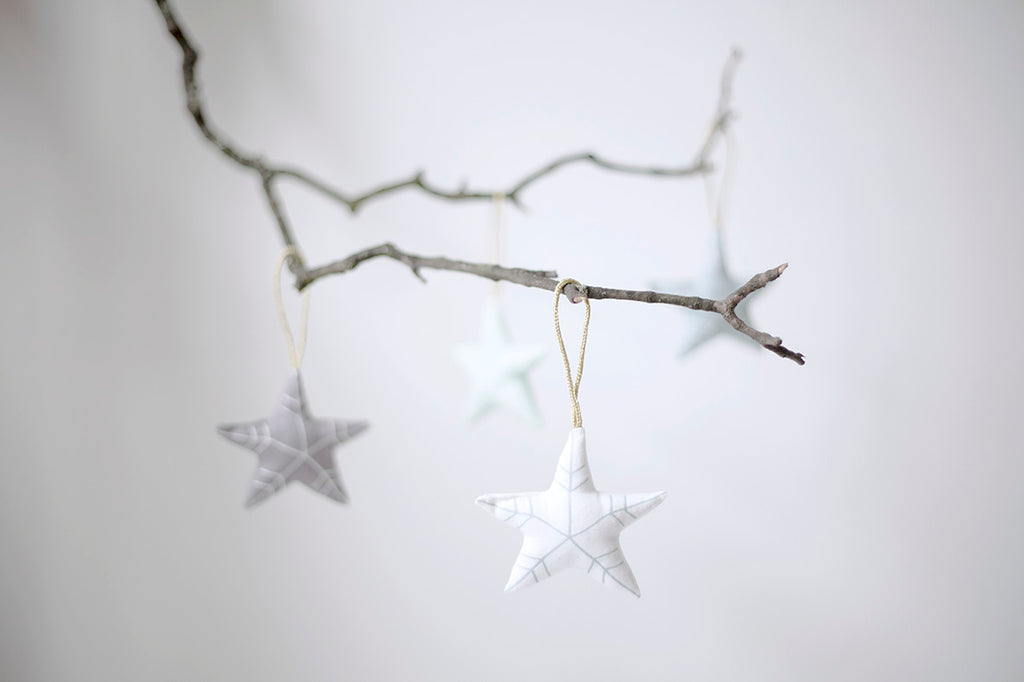 Fabelab Christmas Tree Soft Ornaments Stars