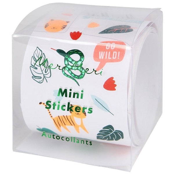 Meri Meri Kids Stationery Roll of Mini Stickers  Jungle