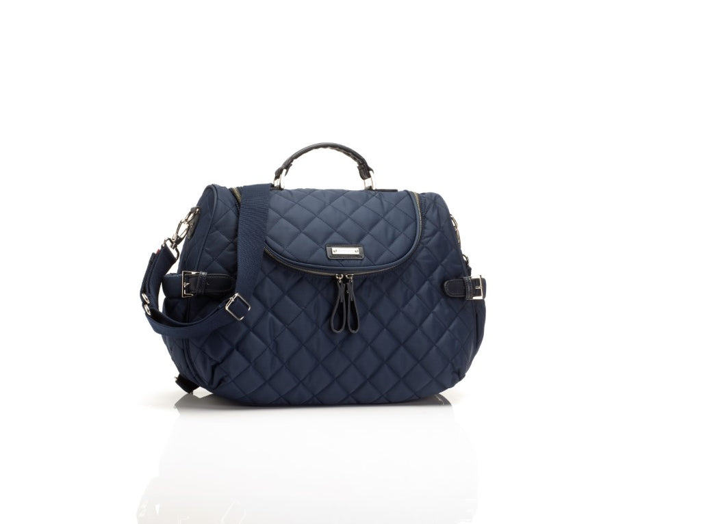 Storksak Nappy Bag - Poppy Quilt Navy