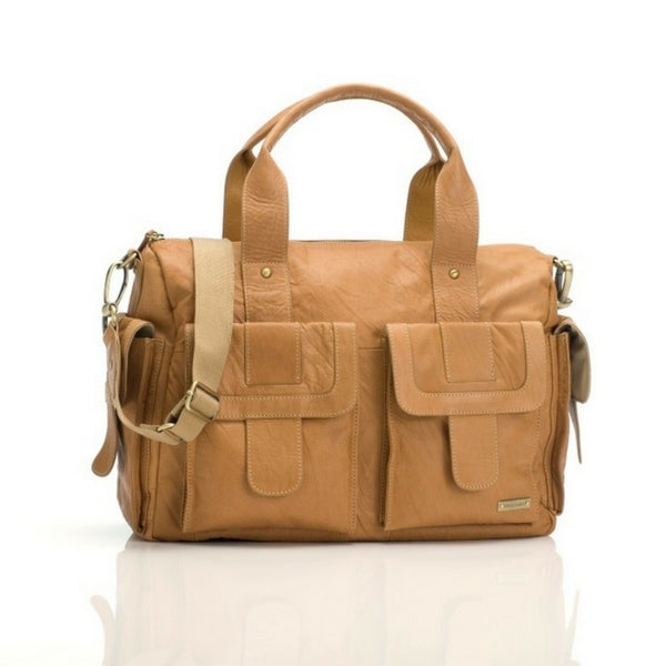Storksak Sofia Leather Nappy Bag