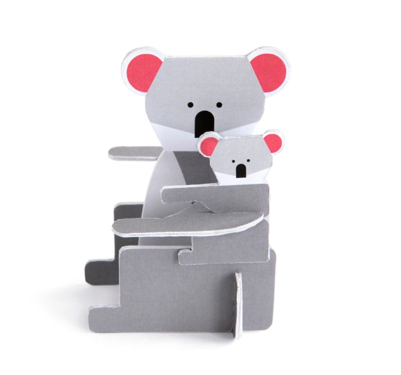 Studio Roof 3D Pop Out Cards - Koala