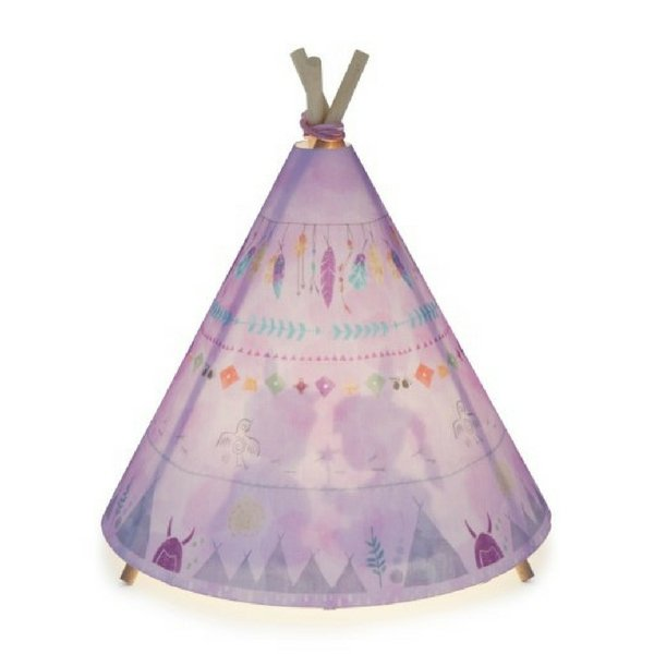 Micky & Stevie Teepee Lamp Pink