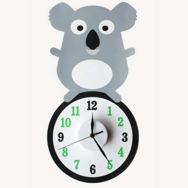 the little blah kids clock koala