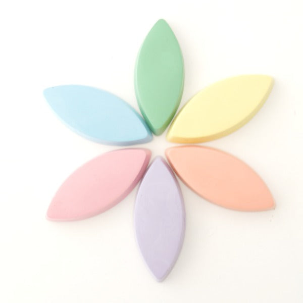 Tinta Crayons for Kids and Toddlers - Petals in Pastel Colours
